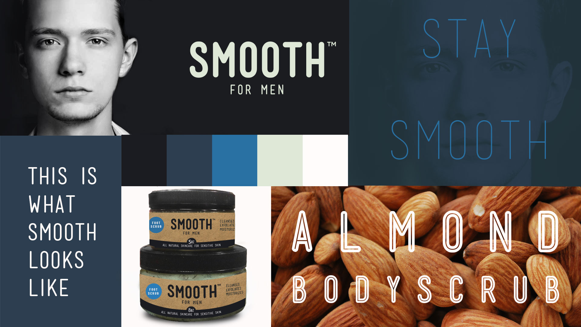 Simple Sugars Smooth For Men mood board